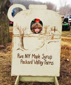 Enjoying a Family Activity at Packard Valley Farms