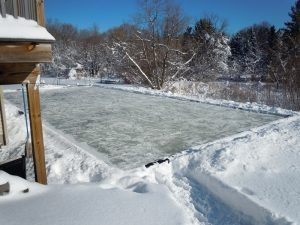 Building And Maintaining The 25u0027x55u0027 Rink Was A Shared Task And One With  New Lessons Each Year. Here Are Some Of Those Lessons, Just In Case You  Decide To ...